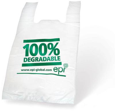 Túi nilon tự phân hủy